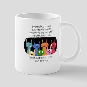 Shockingly Normal Mug