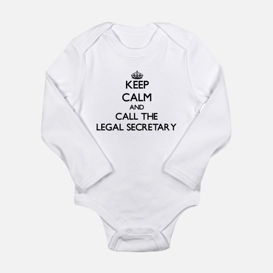 Keep calm and call the Legal Secretary Body Suit