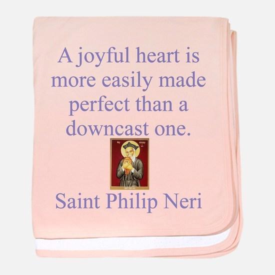 A Joyful Heart baby blanket