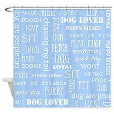 Dog Lover Shower Curtain