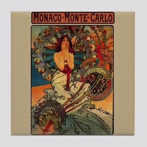 Mucha Art Deco Poster Monaco Monte Carlo