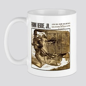 Frank Reade's Steam Man 1892 Mug Mugs