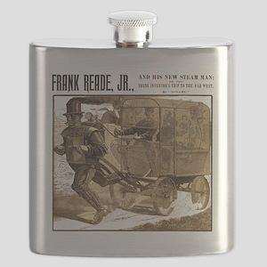 Frank Reade's Steam Man 1892 Flask