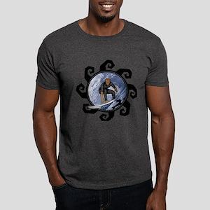 Wicked Waves Surfing Dark T-Shirt