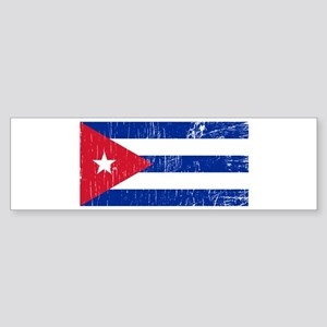 Vintage Cuba Bumper Sticker