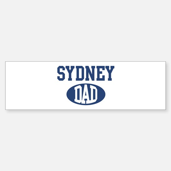 Sydney dad Bumper Bumper Bumper Sticker