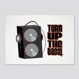 Turn Up The Bass 5'x7'Area Rug