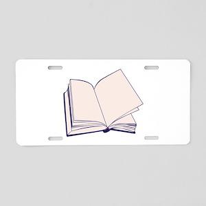 Book Aluminum License Plate
