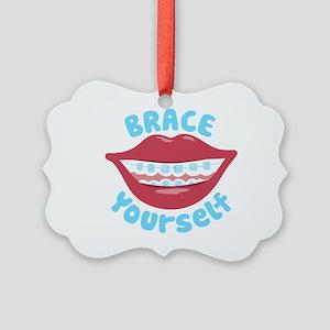Brace Yourself Ornament