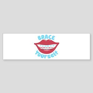 Brace Yourself Bumper Sticker
