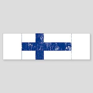 Vintage Finland Bumper Sticker