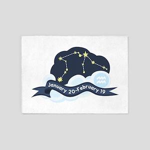 Constellation Aquarius 5'x7'Area Rug