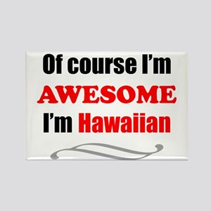 Hawaii Is Awesome Rectangle Magnet