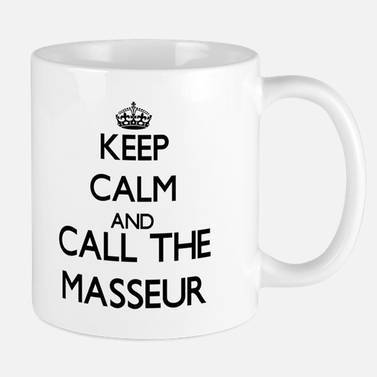 Keep calm and call the Masseur Mugs