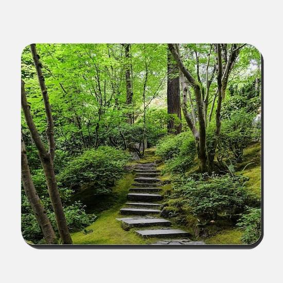 garden path Mousepad