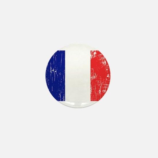 Vintage France Mini Button