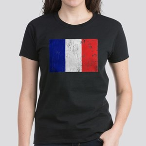 Vintage France Women's Dark T-Shirt