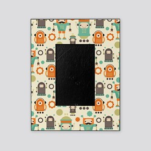 Cute Robot Lover Picture Frame