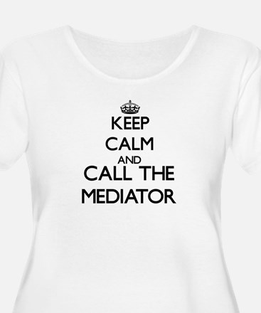 Keep calm and call the Mediator Plus Size T-Shirt