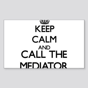 Keep calm and call the Mediator Sticker