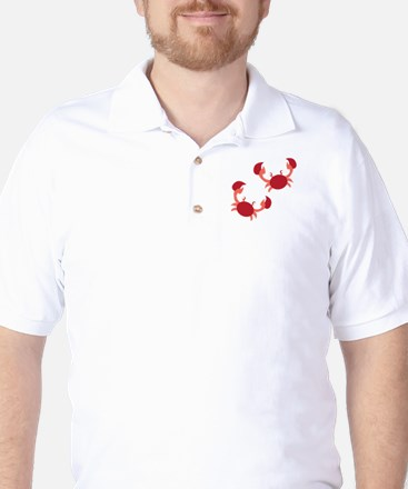 Two Crabs Golf Shirt