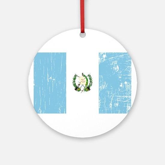 Vintage Guatemala Ornament (Round)