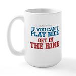 Remix MMA Boxing Wrestling Slogan Large Mug