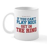 Remix MMA Boxing Wrestling Slogan Mug