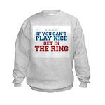 Remix MMA Boxing Wrestling Slogan Kids Sweatshirt