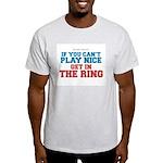 Remix MMA Boxing Wrestling Slogan Light T-Shirt