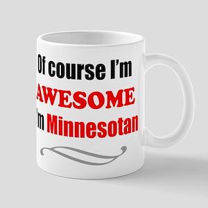 Minnesota Is Awesome Mugs