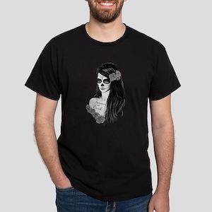 La Catrina - Day of Death b/w T-Shirt