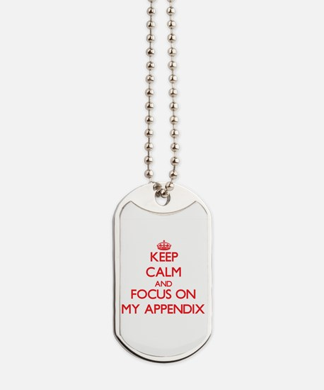 Unique Keep calm and carry on Dog Tags