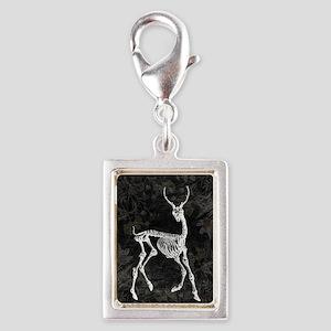 Prancing Deer Skeleton Charms