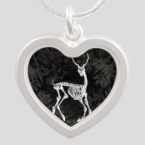 Prancing Deer Skeleton Necklaces