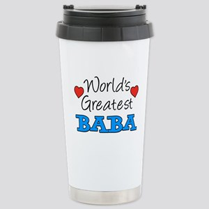 Worlds Greatest Baba Travel Mug