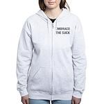 EMBRACE THE SUCK Women's Zip Hoodie