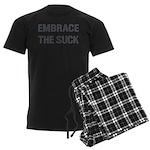 EMBRACE THE SUCK Men's Dark Pajamas