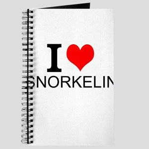 I Love Snorkeling Journal