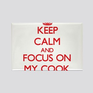 Keep Calm and focus on My Cook Magnets