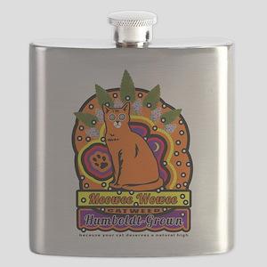 Meowee Wowee Flask