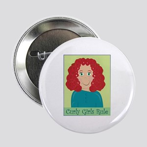 """Curly Girls Rule 2.25"""" Button"""