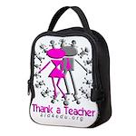 Thank A Teacher Neoprene Lunch Bag