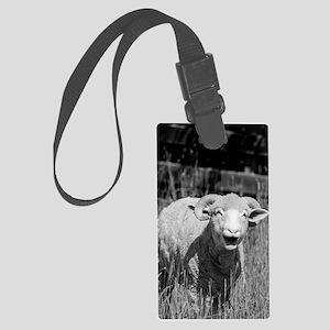 Cute Sheep Large Luggage Tag