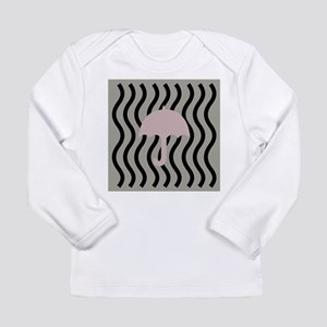 Fabric Pastel Pink Princess Fashion Long Sleeve T-