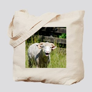 Cute and Funny Sheep  Tote Bag