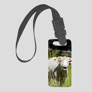 Cute Sheep  Small Luggage Tag