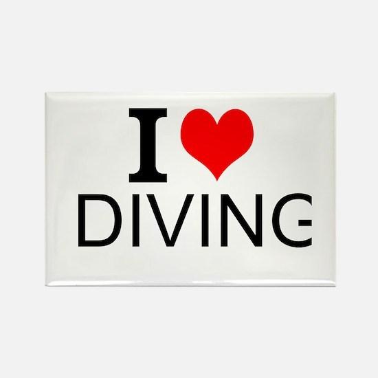 I Love Diving Magnets