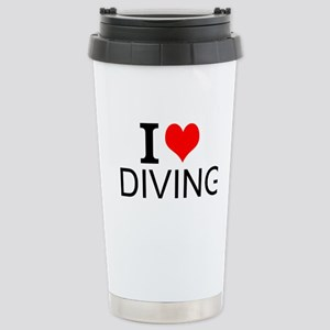I Love Diving Travel Mug