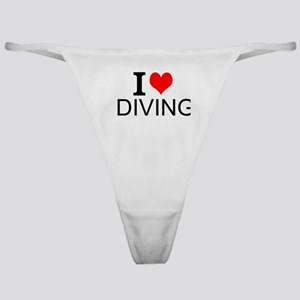 I Love Diving Classic Thong